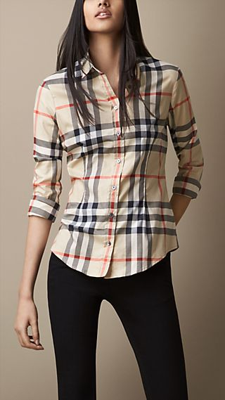 Exploded Check Shirt