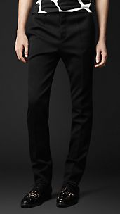 Cavalry Twill Slim Fit Trousers