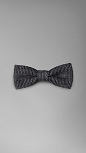 Silk Cotton Bow Tie