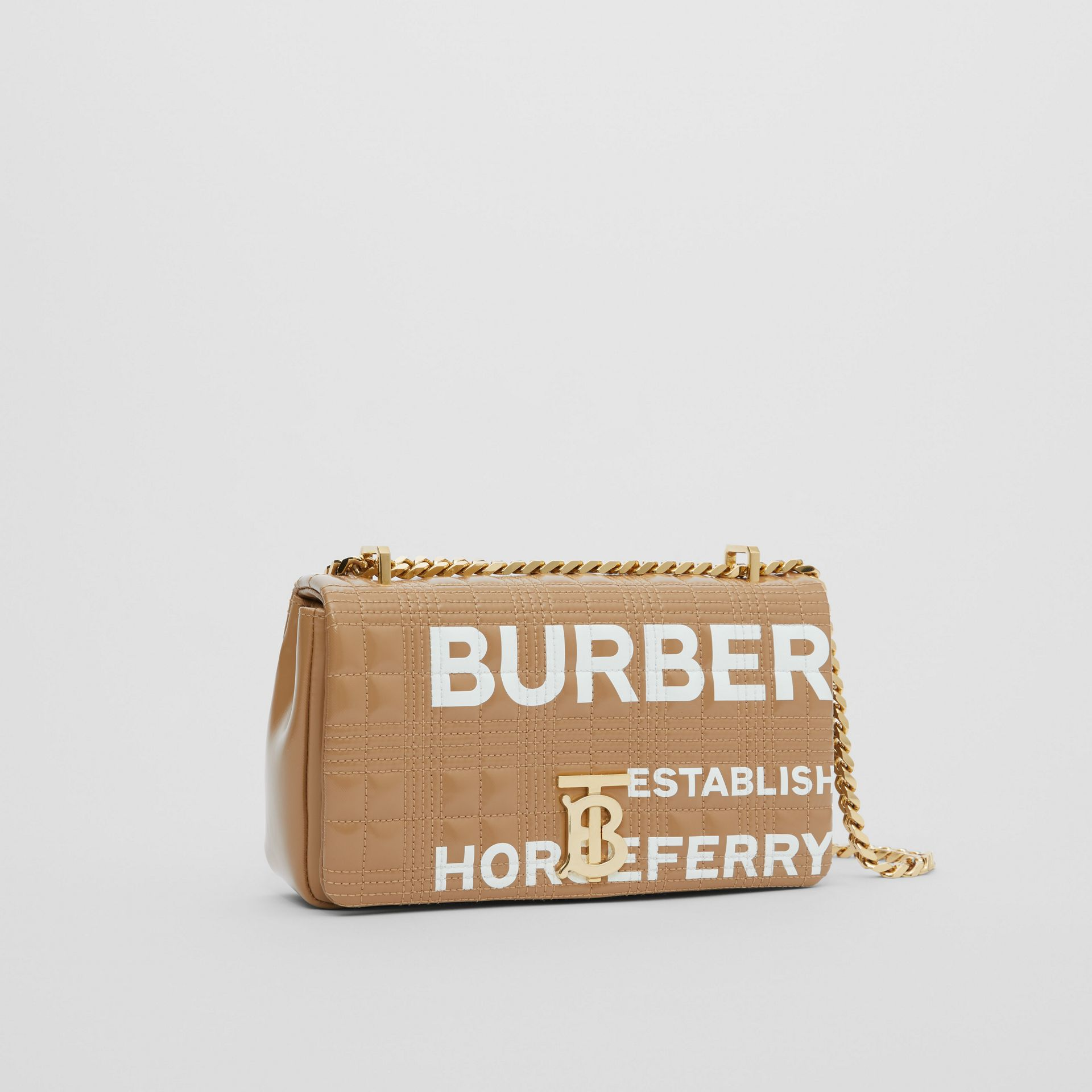 Small Horseferry Print Quilted Lola Bag - Women | Burberry - gallery image 6