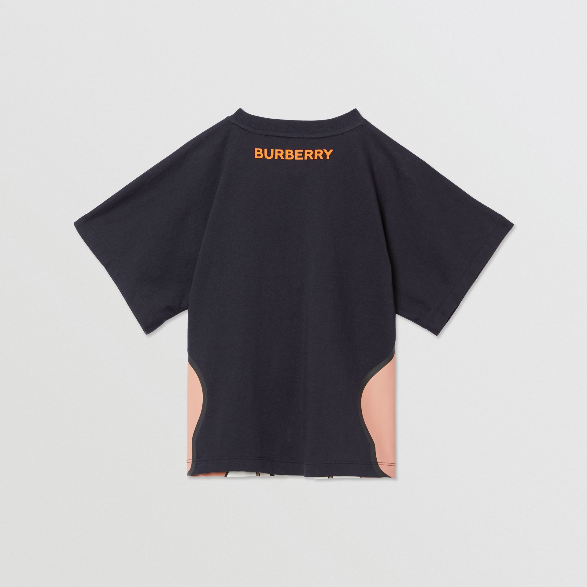 Unicorn Print Cotton T-shirt in Ink   Burberry United Kingdom - gallery image 3