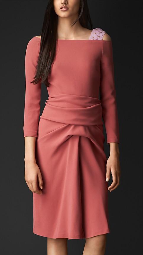 http://us.burberry.com/flower-strap-draped-dress-p45113681?search=true
