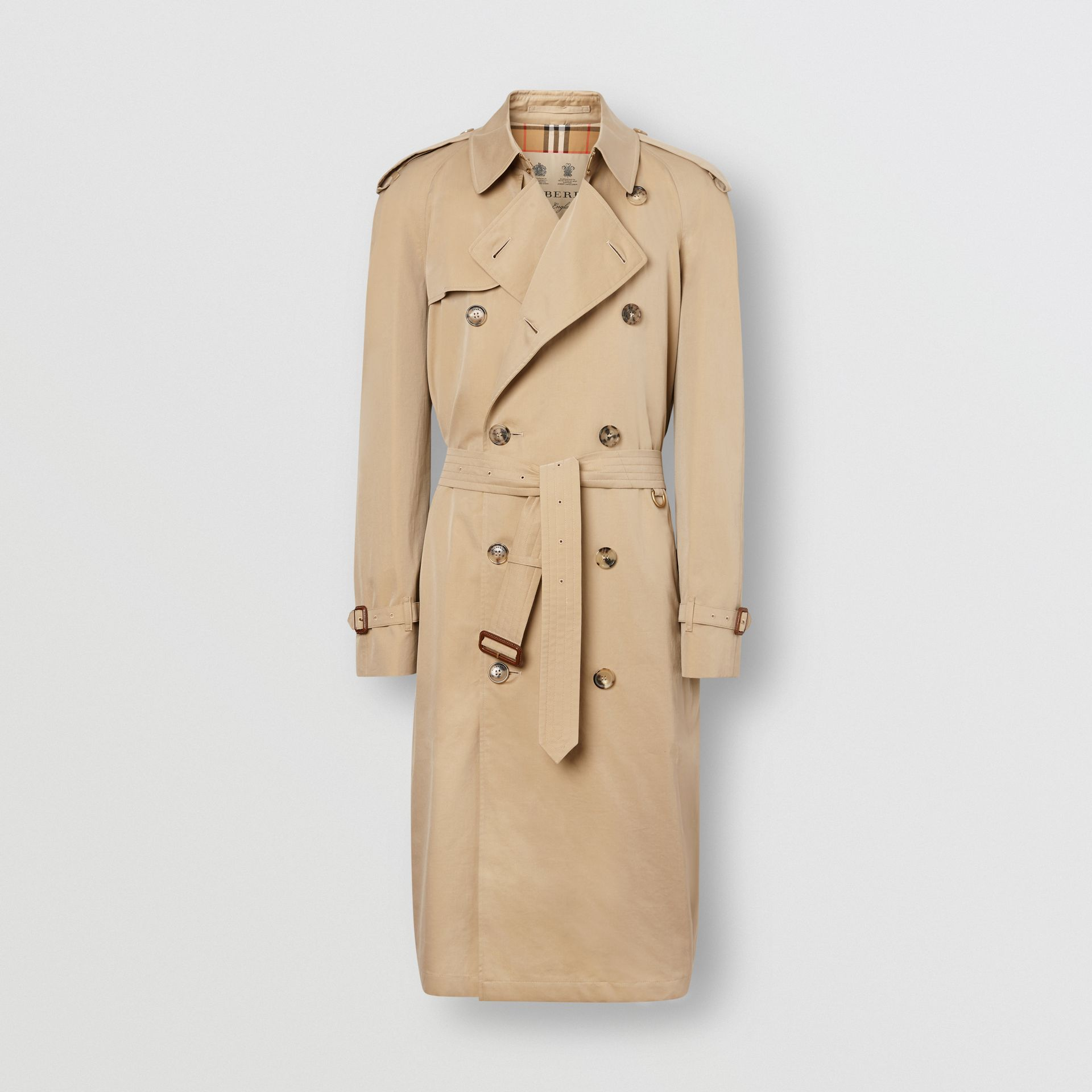 The Westminster Heritage Trench Coat in Honey - Men | Burberry Australia - gallery image 7