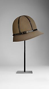 Cotton Gabardine Rain Hat
