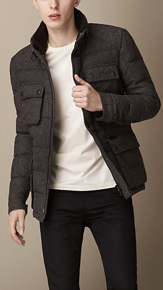 Wool Flannel Field Jacket