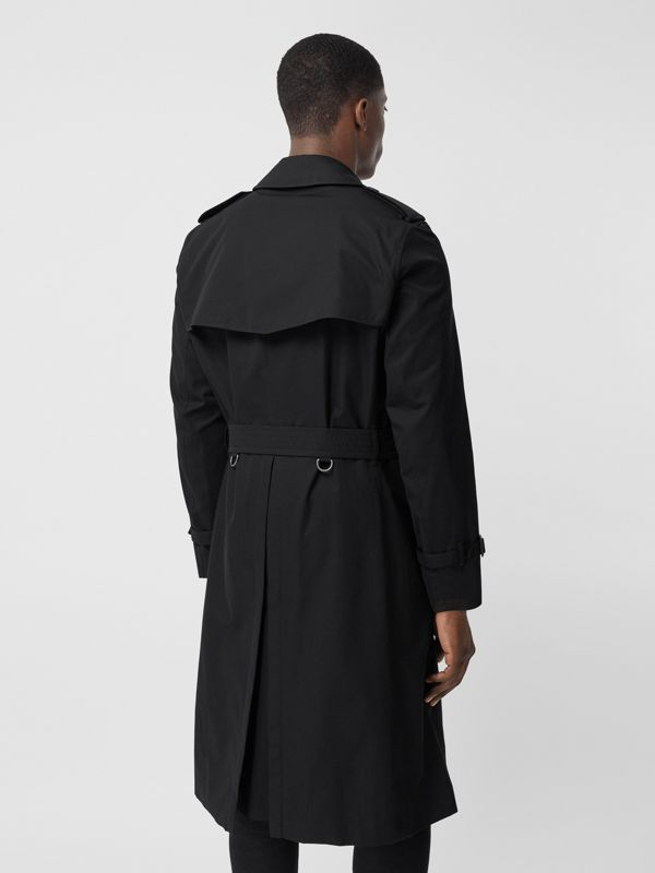 The Chelsea - Trench coat Heritage longo (Preto) - Homens | Burberry - cell image 2