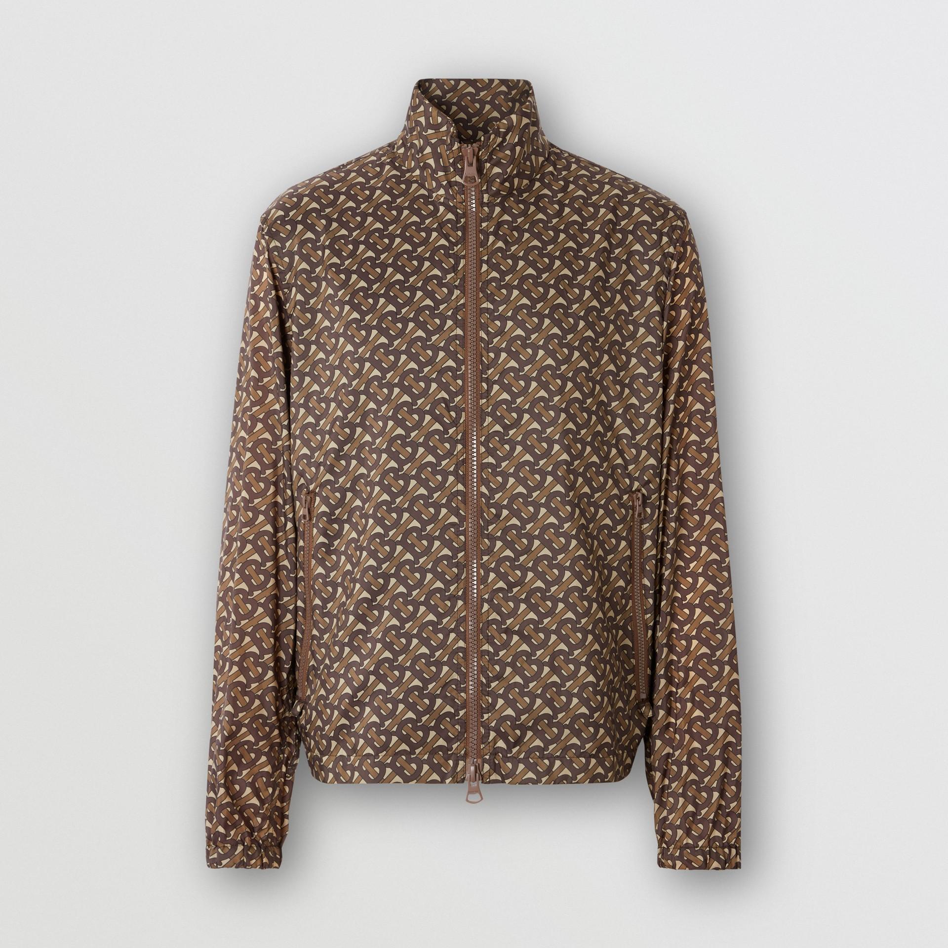 Cotton Harrington Jacket with Detachable Warmer in Honey - Men | Burberry - gallery image 6
