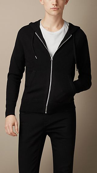 Cashmere Hooded Top