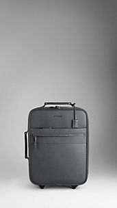 London Leather Suitcase