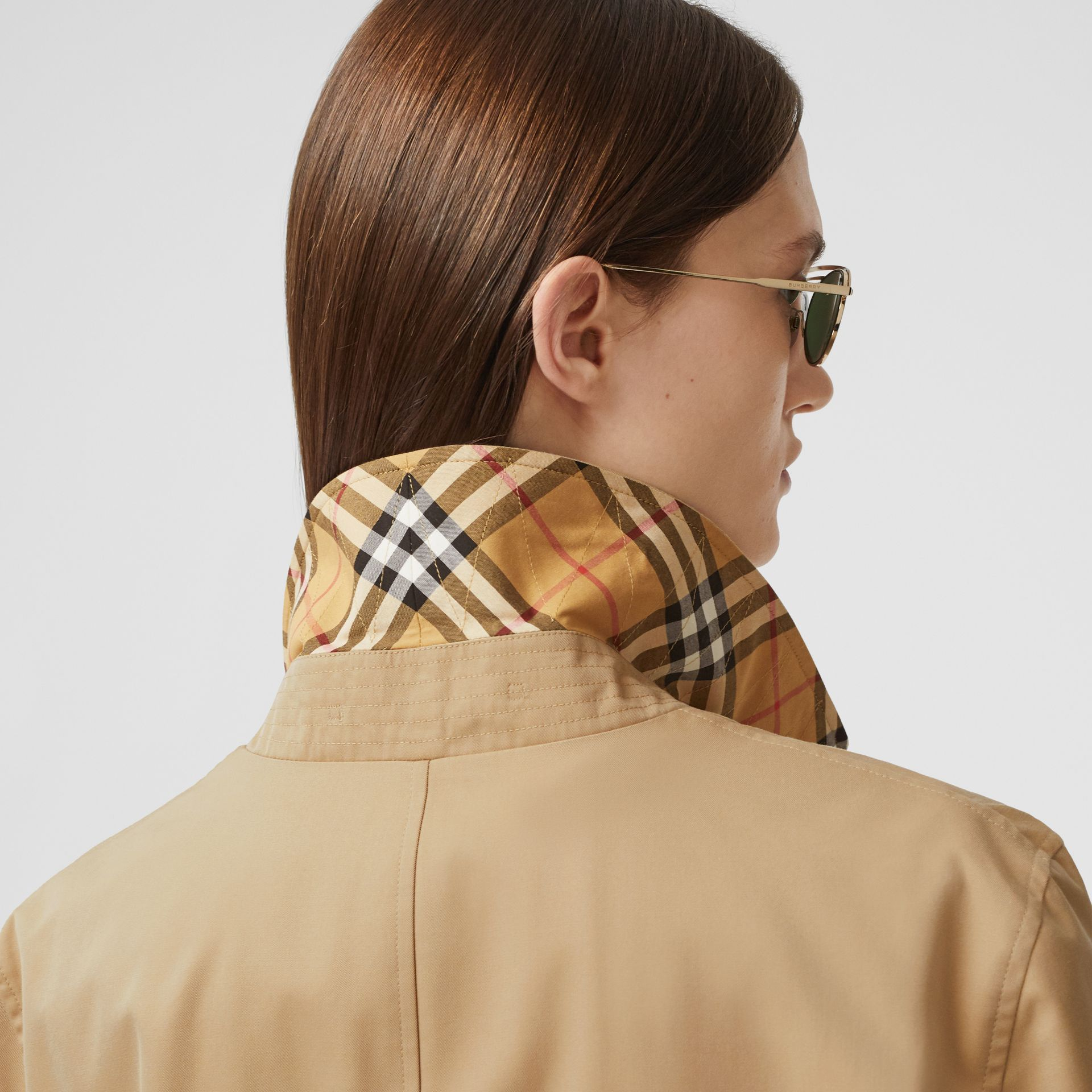 The Pimlico Heritage Car Coat in Honey - Women | Burberry - gallery image 5