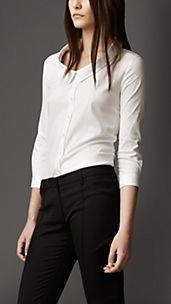 Dropped Collar Shirt