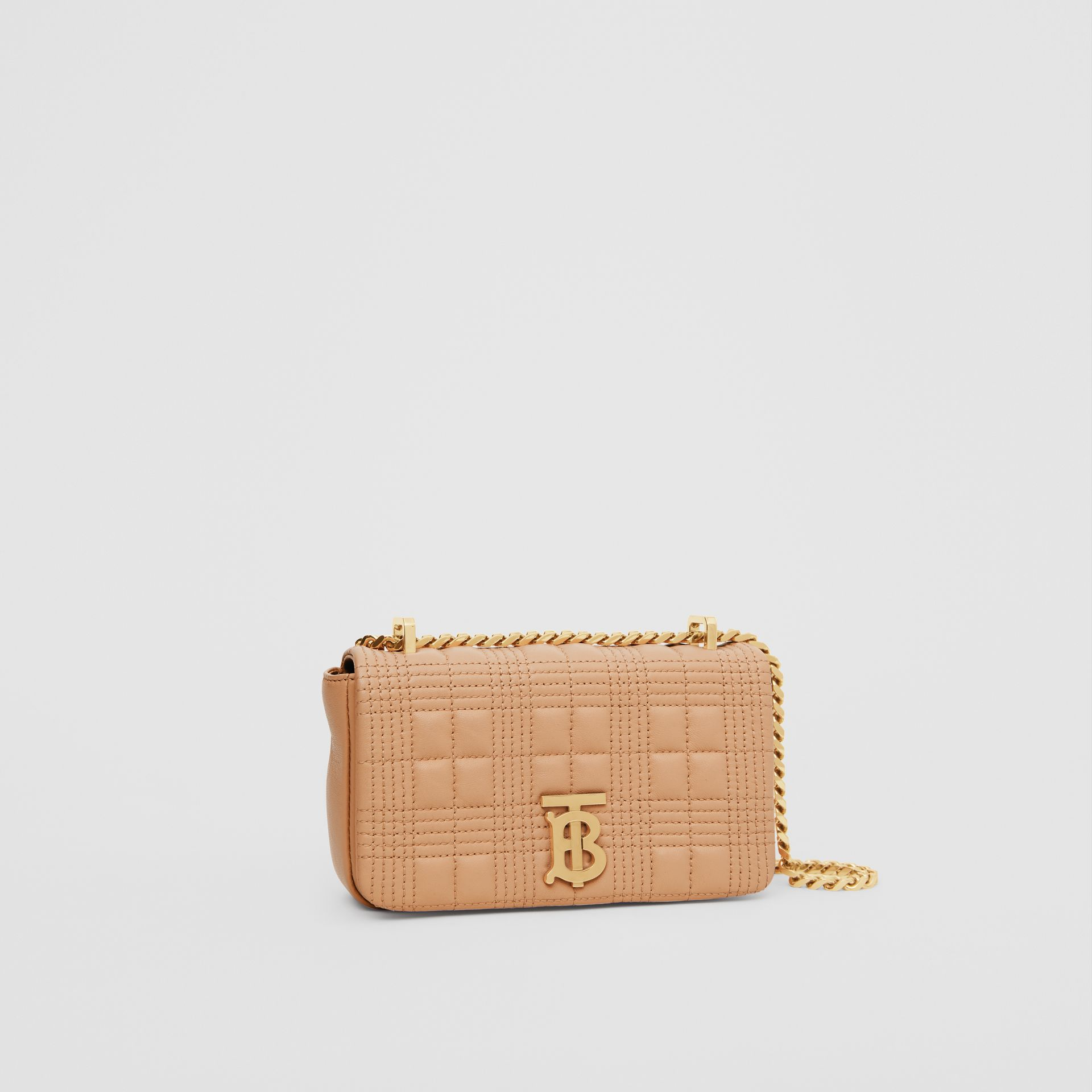 Mini Quilted Lambskin Lola Bag - Women | Burberry - gallery image 6