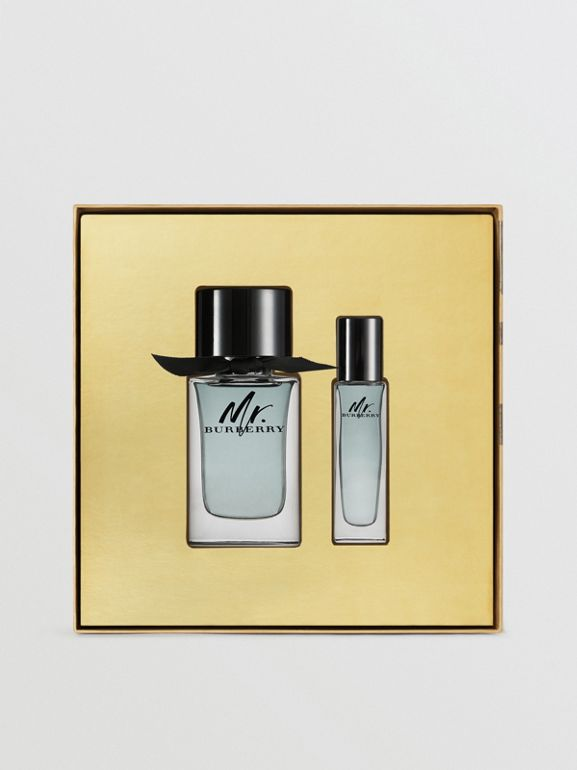 Mr. Burberry Eau de Toilette Gift Set in Honey | Burberry - cell image 1