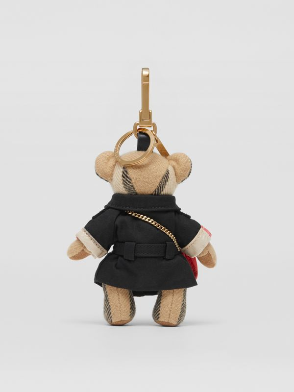 Thomas Bear Charm with Lola Bag in Archive Beige - Women | Burberry Australia - cell image 3