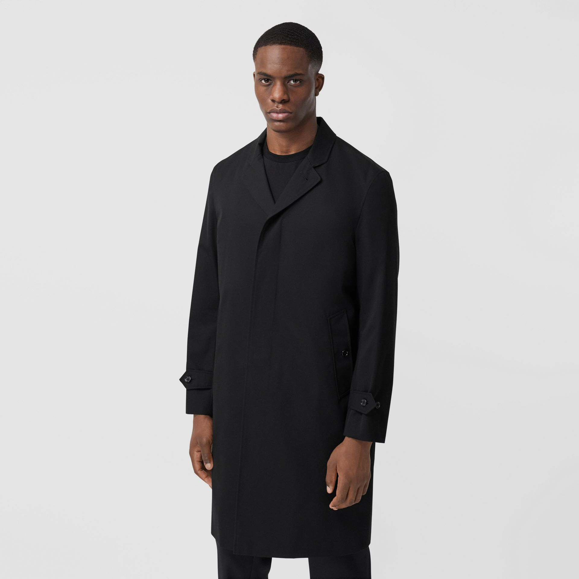 Cotton Gabardine Car Coat - Men | Burberry United States - gallery image 5