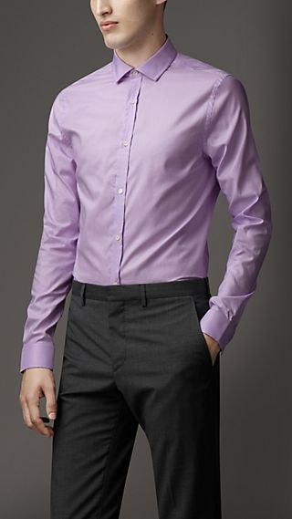 Modern Fit Cotton Shirt