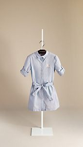 Cotton Linen Shirt Dress
