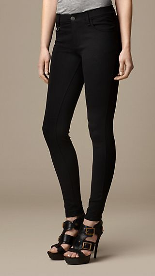 Skinny Fit Seam Detail Trousers