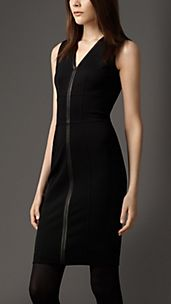 Taped Seam Corset-Jersey Dress