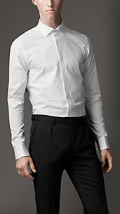 Modern Fit Bib Front Shirt