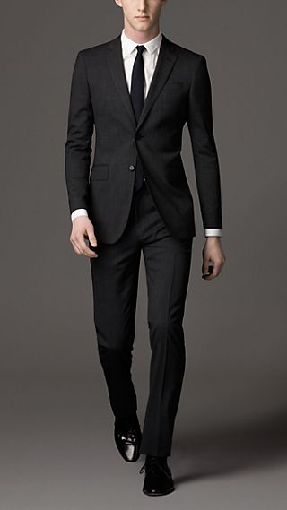 Modern Fit Virgin Wool Suit