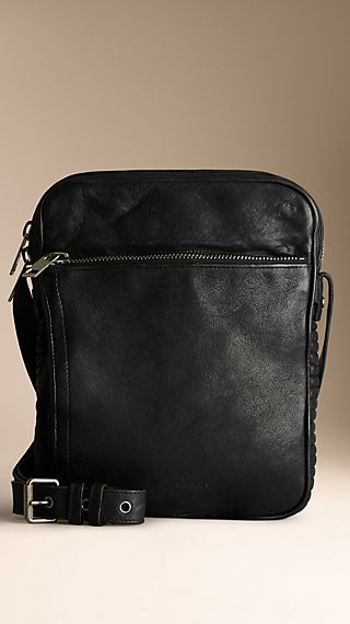 Small Leather Crossbody Satchel