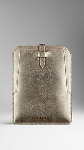 Metallic London Leather iPad Mini Case