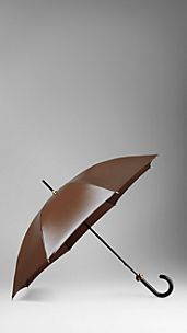 Metallic Wet Look Walking Umbrella