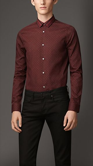 Paisley Cotton Silk Shirt