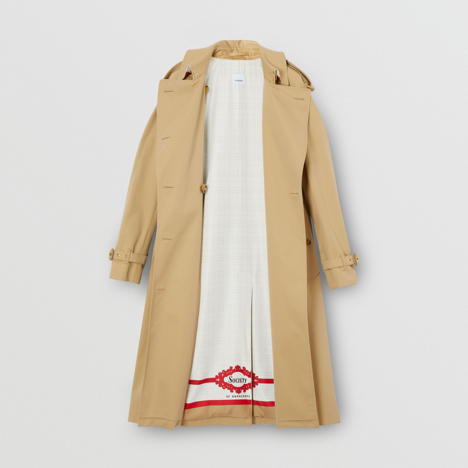Archive Scarf Print-lined Trench Coat - Women | Burberry - gallery image 8