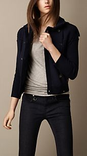 Merino Wool Knitted Jacket