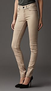 High Rise Skinny Fit Jeans
