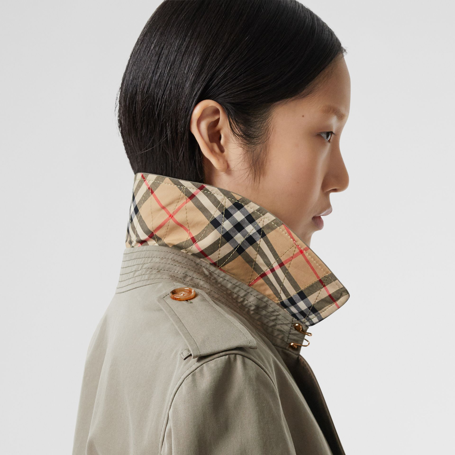 Two-tone Reconstructed Trench Coat - Women | Burberry - gallery image 4