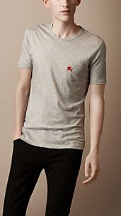 Patch Pocket Cotton T-Shirt