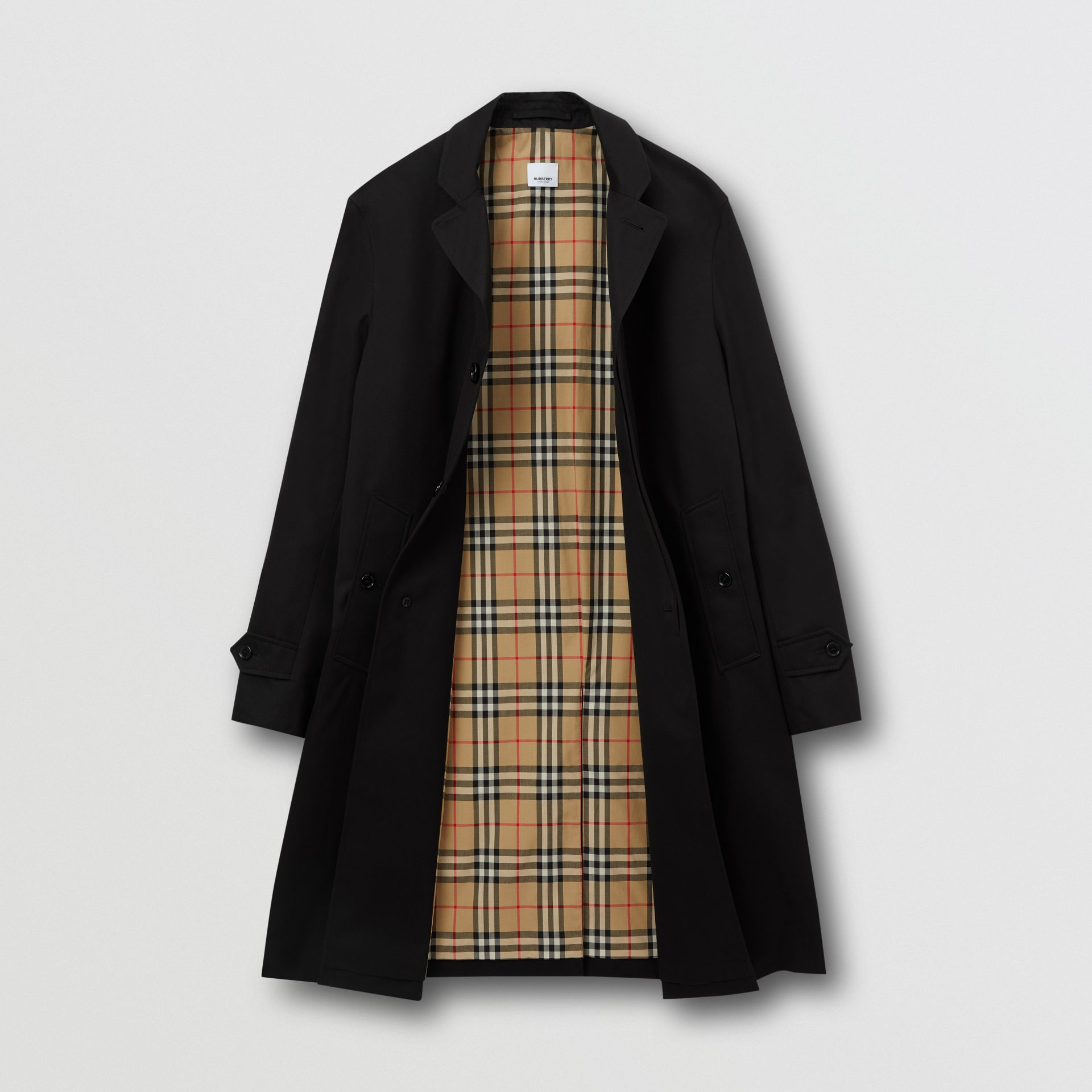 Cotton Gabardine Car Coat | Burberry United Kingdom - gallery image 1
