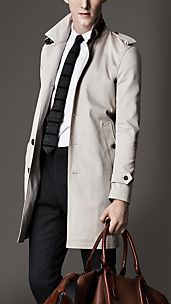 Cotton Twill Top Collar Jacket