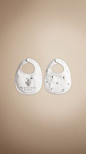 Burberry Baby Knight Bib Set