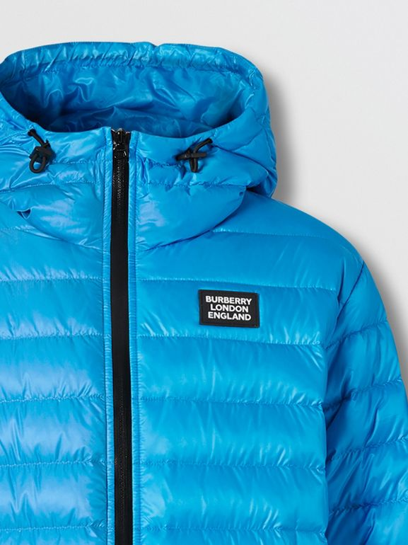 Logo Appliqué Hooded Puffer Jacket | Burberry United Kingdom - cell image 1