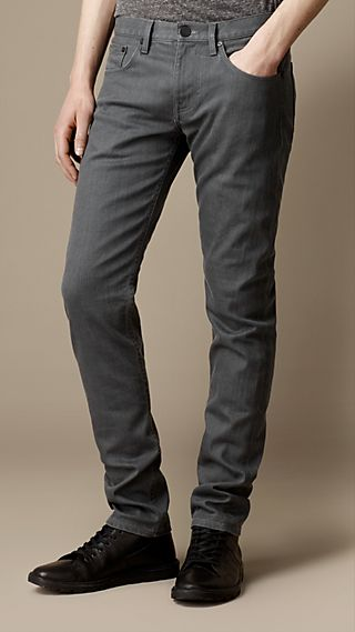 Shoreditch Resinated Skinny Fit Jeans