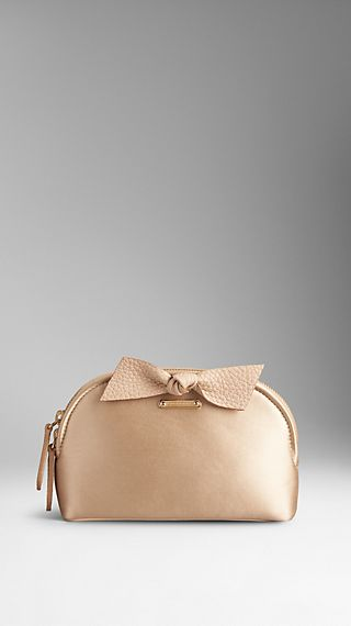 The Beauty Bloomsbury in Satin with Knot Detail