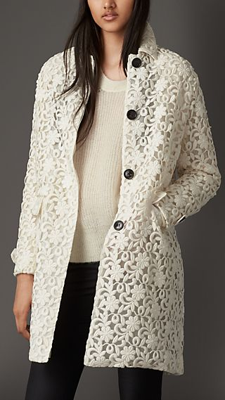 Floral Lace Coat