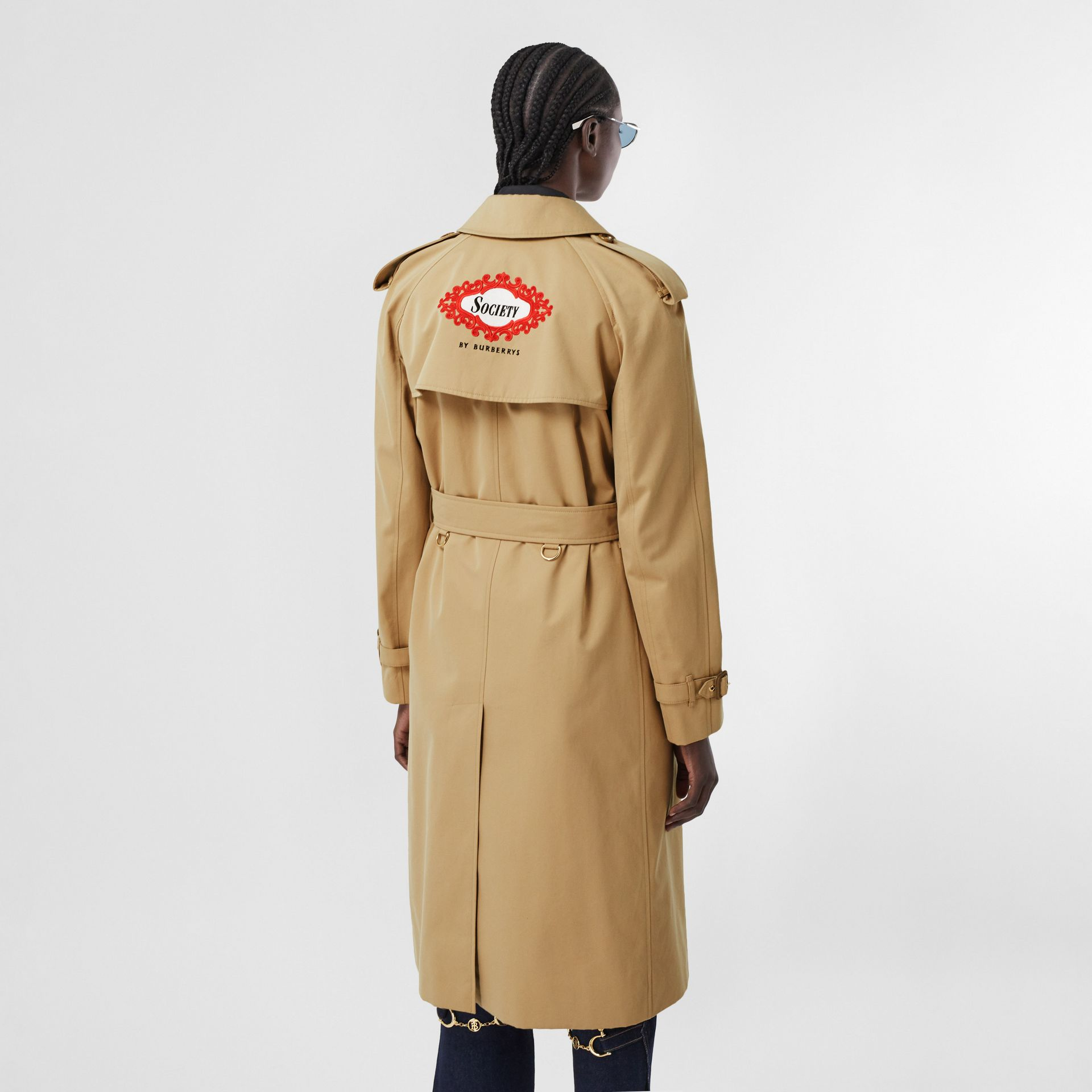 Archive Scarf Print-lined Trench Coat - Women | Burberry - gallery image 7