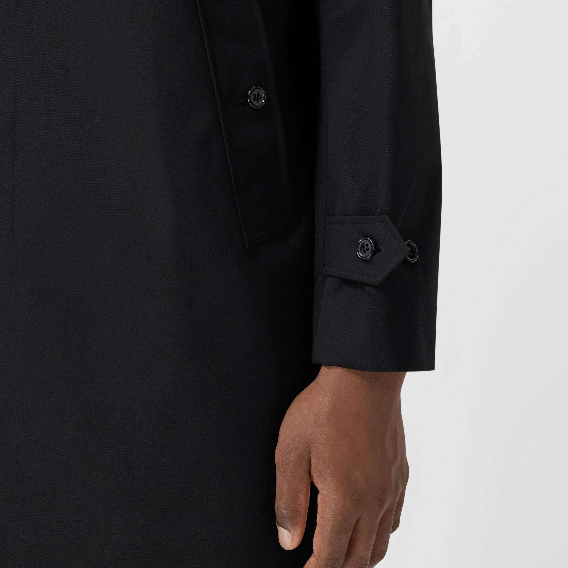 Cotton Gabardine Car Coat - Men | Burberry United States - gallery image 4