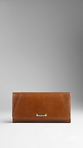 Bridle Leather Continental Wallet