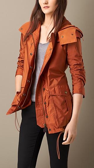 Peaked Hood Jacket