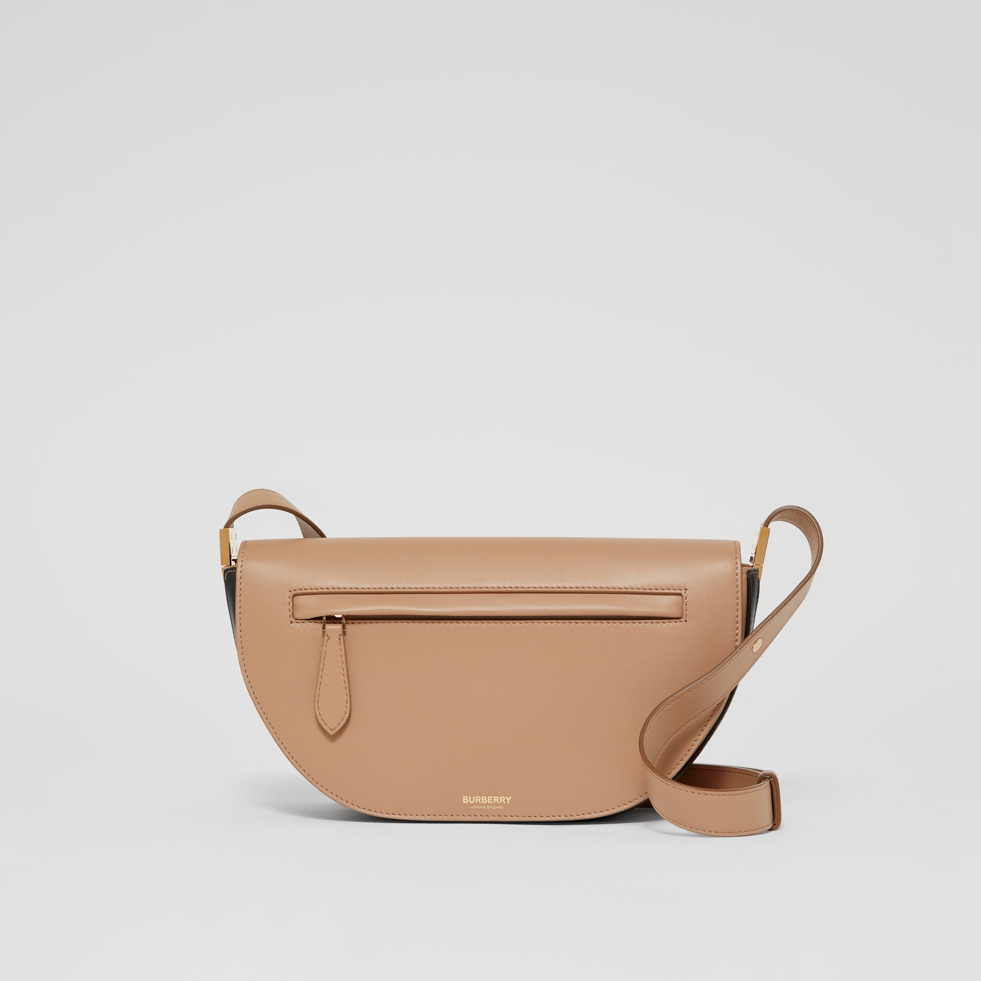 Small Leather Olympia Bag in Camel - Women | Burberry - gallery image 0