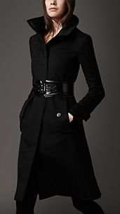 Long Cashmere Blend Coat