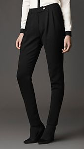 Tailored Pleat-Front Trousers