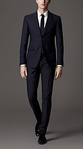 Modern Fit Shawl Collar Suit