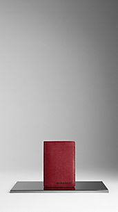 London Leather Passport Holder